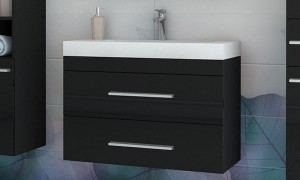 Cupboard with sink B9020