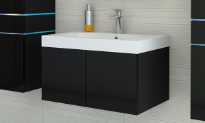 Cupboard with sink B9018