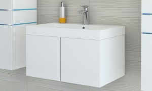Cupboard with sink B9019
