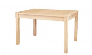 Extendable dining table 160x80 cm