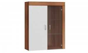 Wall cabinet showcase 90x111 cm