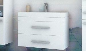 Cupboard with sink B9021