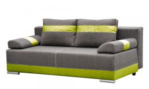 Sofa bed with storage 194x90 cm