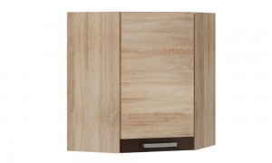 Kitchen wall corner cabinet 60x60 cm