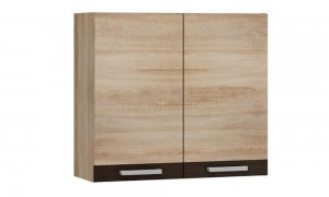 Kitchen wall cupboard for dishes 80x34 cm