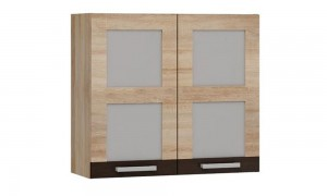 Kitchen wall cabinet showcase 80x34 cm