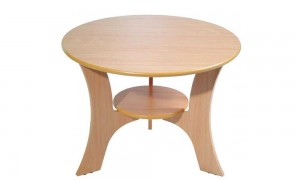 Round coffee table 76x76 cm