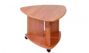 Coffee table on wheels 70x70 cm