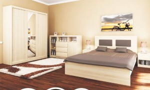Set of furniture in the bedroom B6619