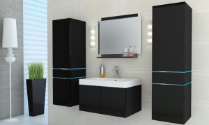 Bathroom set Black B9000